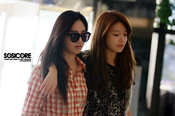 Sooyoung Yuri Gimpo Airport to Japan