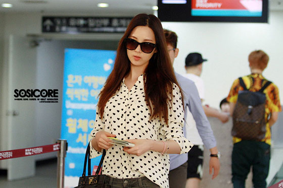SNSD Seohyun Gimpo Airport to Japan