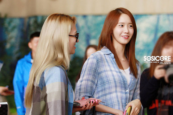 SNSD Yoona Gimpo Airport to Japan