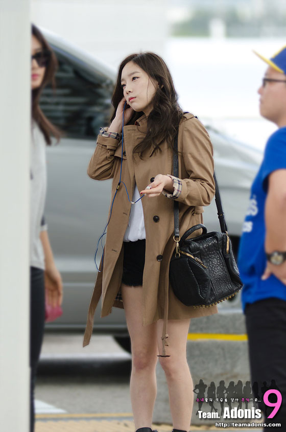 SNSD Taeyeon Incheon Airport to Indonesia