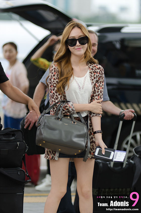SNSD Jessica Incheon Airport to Indonesia