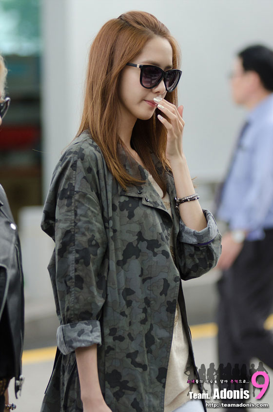 SNSD Yoona Incheon Airport to Indonesia