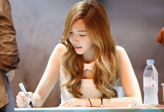 SNSD Jessica Stonehenge fansign event