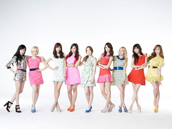 Girls Generation Lotte Shopping ads