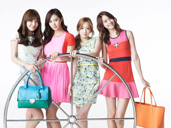 SNSD Sooyoung Yuri Lotte Shopping