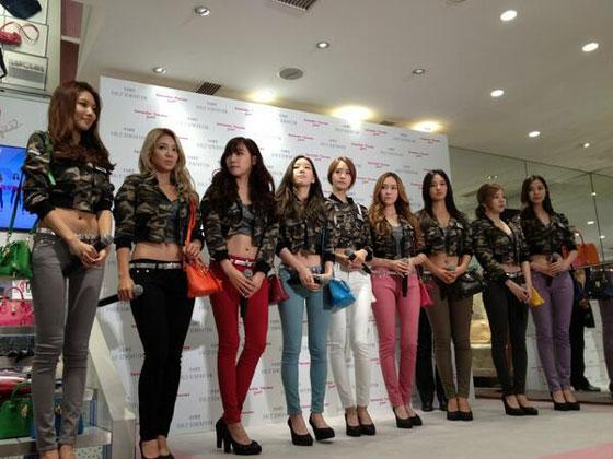Girls Generation Samantha Thavasa Tokyo