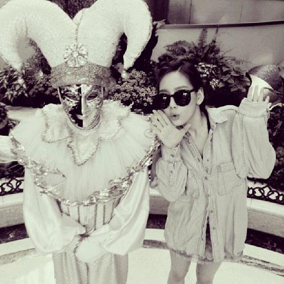 Taeyeon Instagram selca August 2013