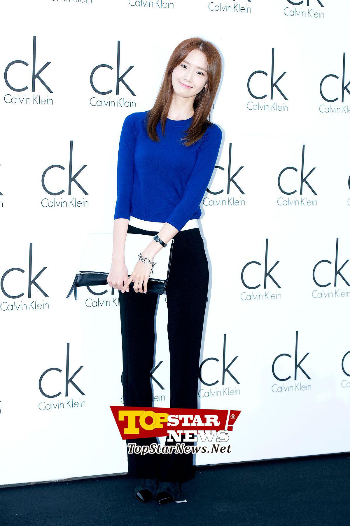 Yoona Calvin Klein event