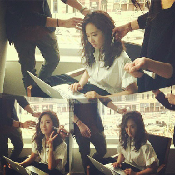 SNSD Yuri Fashion King selca