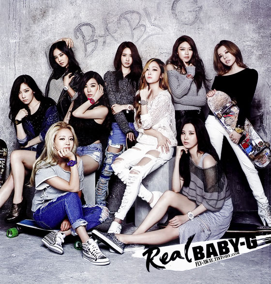 Girls Generation Real Baby G