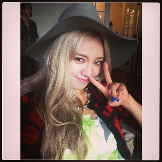 SNSD Hyoyeon October 2013 Instagram
