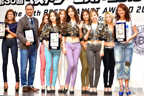 Girls Generation Japan Jeanist Awards