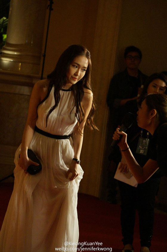 SNSD Jessica Macau Huading Awards 2013