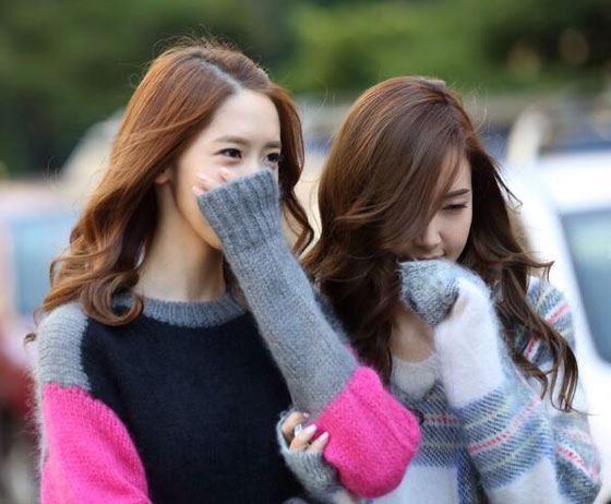 Yoona Jessica KBS Music Bank