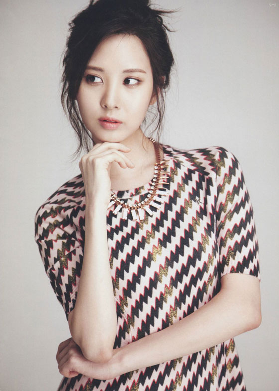 SNSD Seohyun Japanese Billboard Kpop Magazine