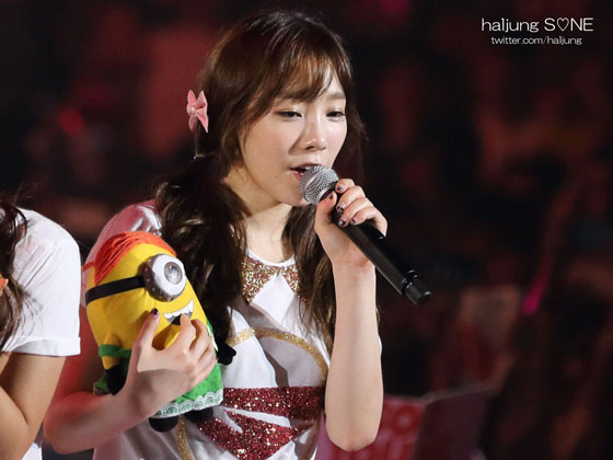 SNSD Taeyeon World Tour 2013 Singapore