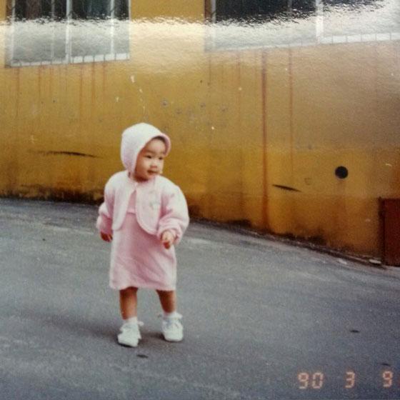 SNSD Taeyeon baby photo
