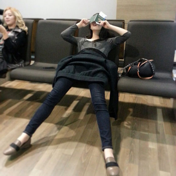 Taeyeon Instagram selca October 2013