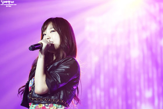 SNSD Taeyeon Korean WAPOP Concert