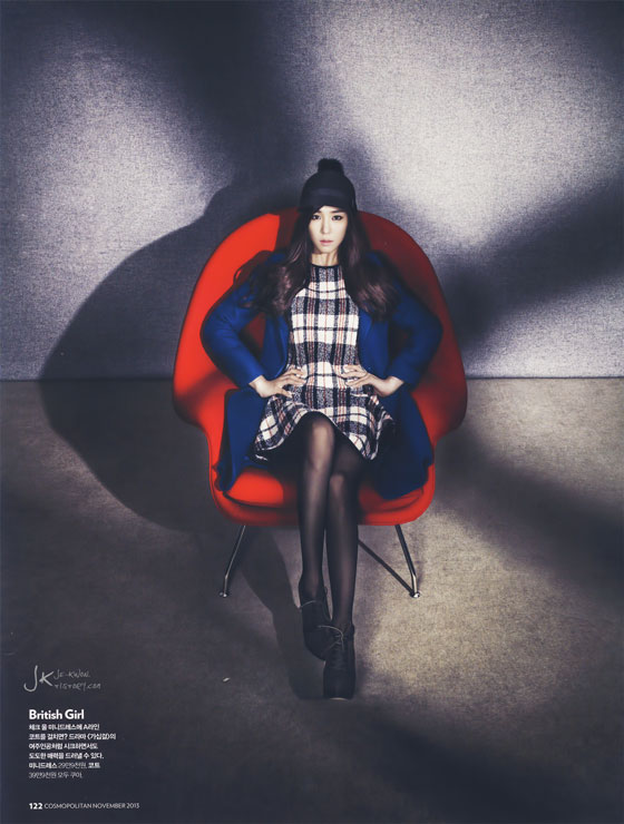 Tiffany Hwang Korean Cosmopolitan Magazine