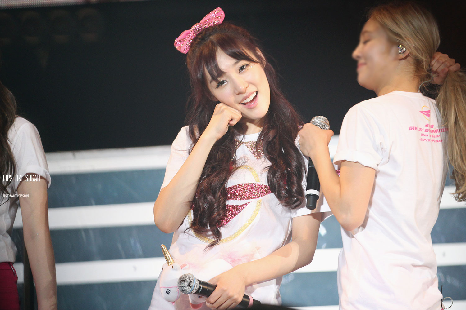 Tiffany @ World Tour 2013 Singapore