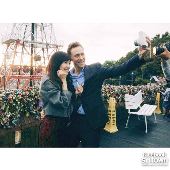 SNSD Tiffany Tom Hiddleston