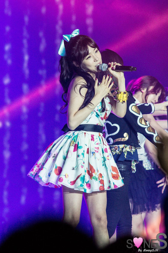 Girls Generation Tiffany WAPOP Concert
