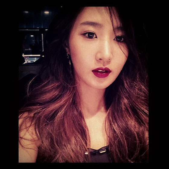 Yuri Instagram selca October 2013