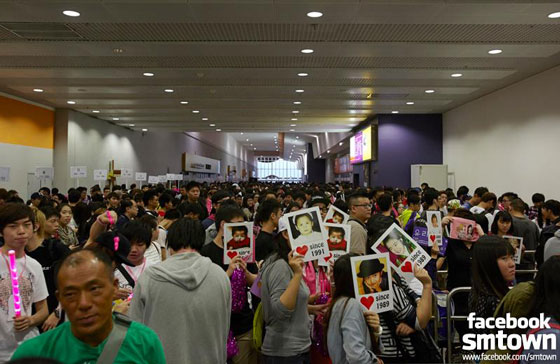 SNSD fans World Tour 2013 Hong Kong