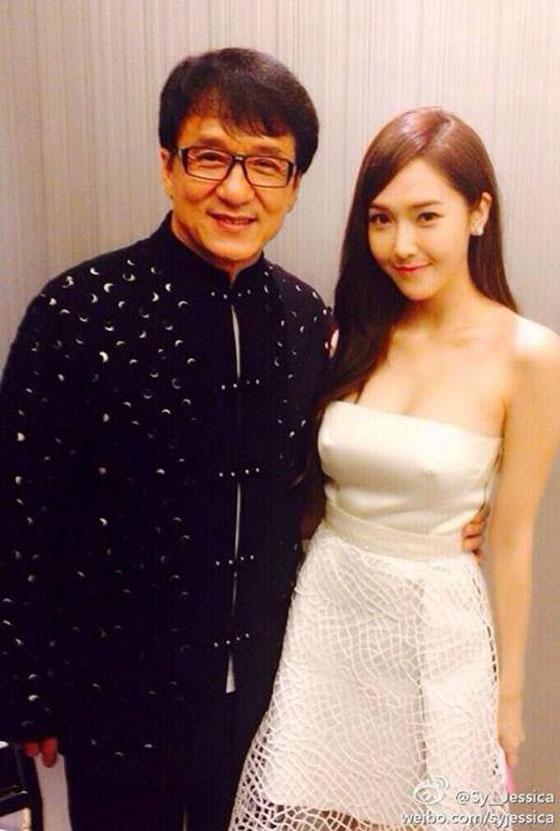 SNSD Jessica Jackie Chan Weibo