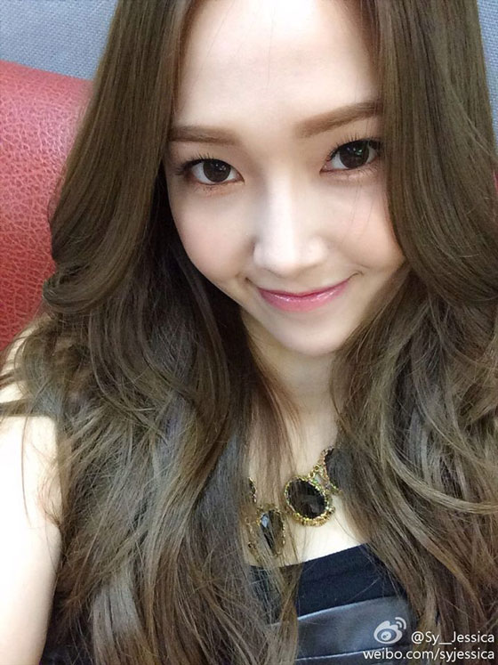 SNSD Jessica October Weibo selca