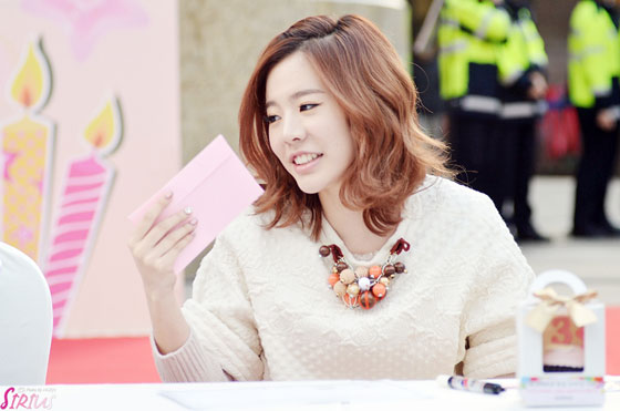 SNSD Sunny Lotte Department Store fansign