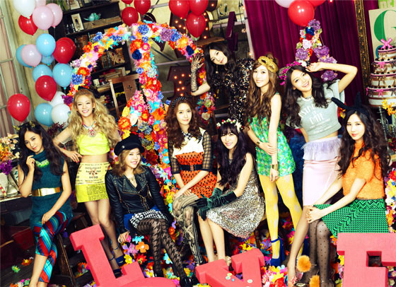 SNSD Love Peace Japanese album HD