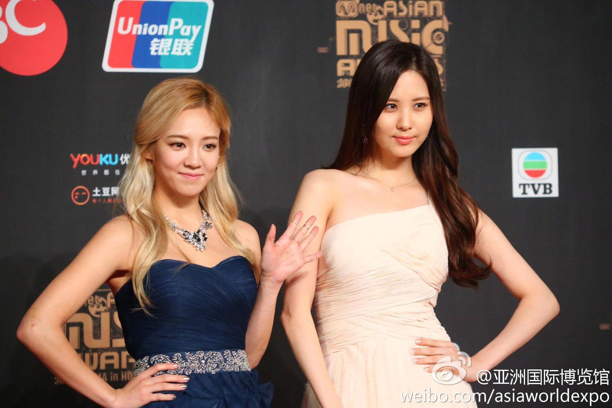 Hyoyeon & Seohyun MAMA 2013
