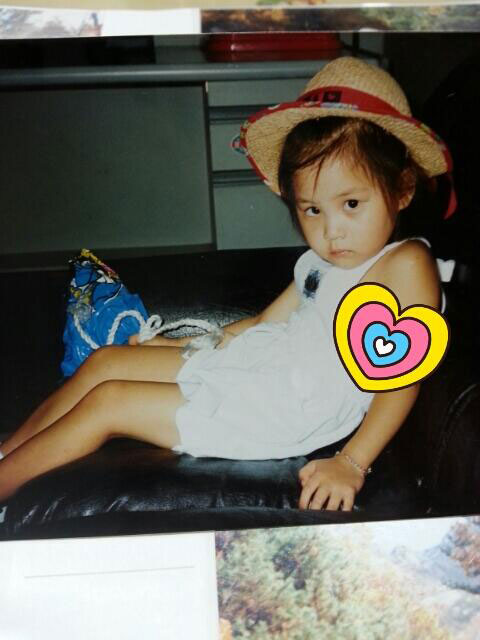 SNSD Seohyun childhood picture Twitter