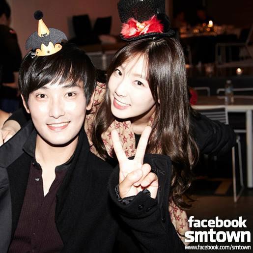SNSD Taeyeon Kangta SMTOWN Halloween Party