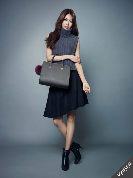 SNSD Sooyoung DoubleM holiday lookbook