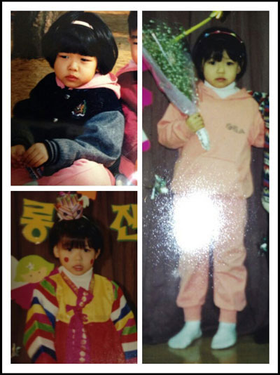 SNSD Sooyoung childhood photo