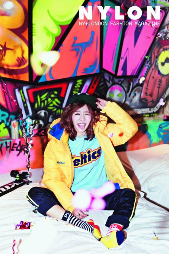 SNSD Sunny Feltics Nylon Magazine