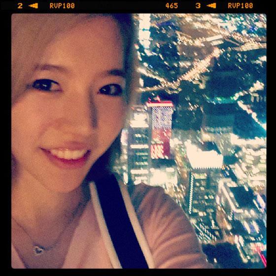 Sunny Instagram selca October 2013