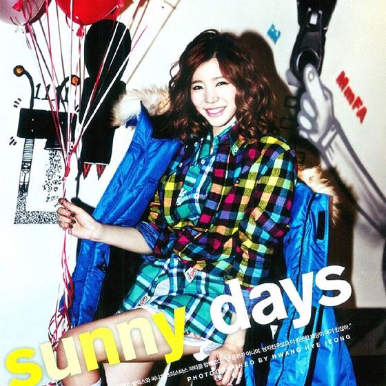 SNSD Sunny Nylon Instagram 2013