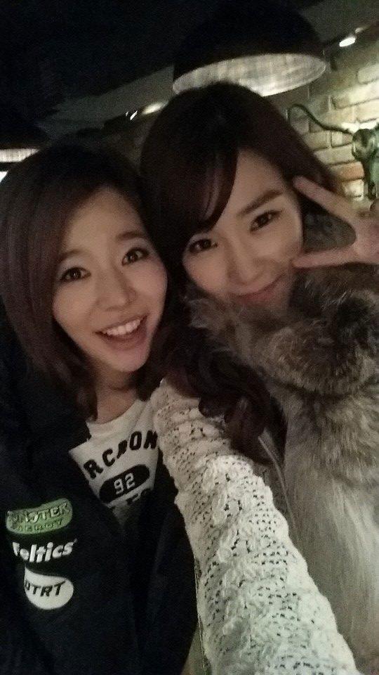 Sunny & Tiffany @ Coreanos Kitchen