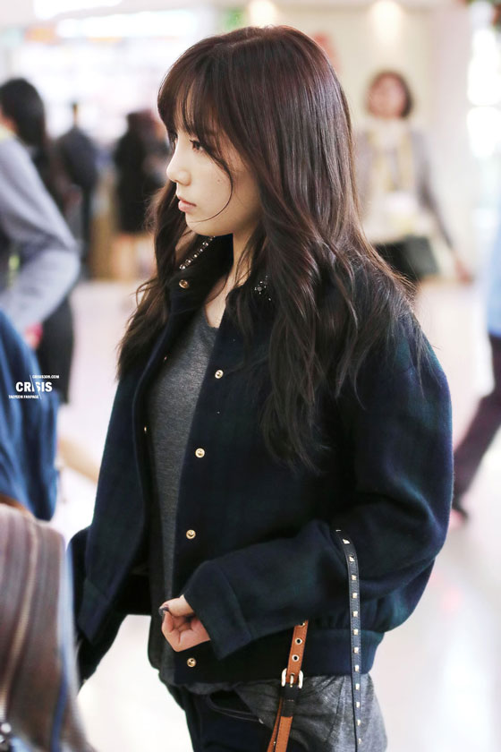 SNSD Taeyeon Incheon Airport fashion 131018