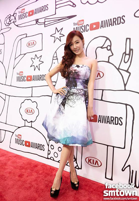 SNSD Tiffany Youtube Music Awards 2013