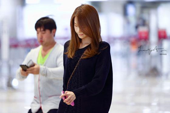 SNSD Yoona Gimpo Airport fashion 131005