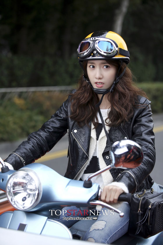 SNSD Yoona scooter Prime Minister