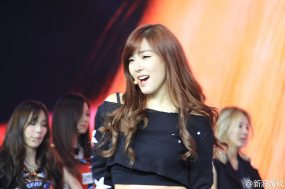 SNSD Blade & Soul event in Shanghai