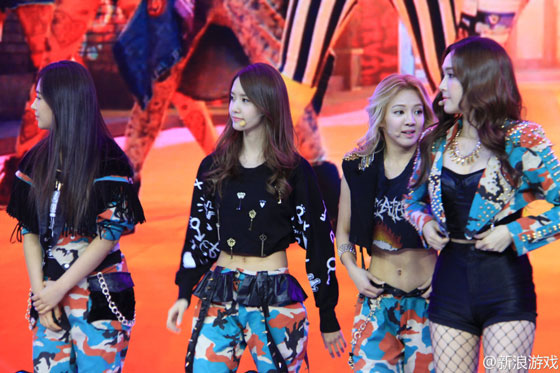 SNSD members Blade Soul event Shanghai