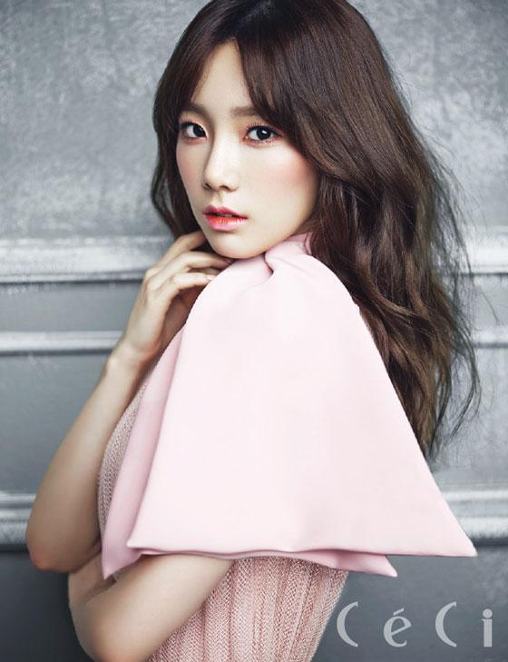 SNSD Taeyeon Ceci Magazine 2014