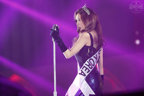 SNSD Jessica sexy stage Marchen Fantasy Concert